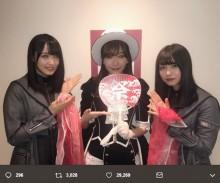【エンタがビタミン♪】指原莉乃×欅坂46 コラボショットに大反響「推しと推しが…」「げきあつ!!」