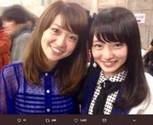 【エンタがビタミン♪】大島優子と向井地美音、懐かしい『ヘビロテ』2ショットにファン「魂は継承されたままなのか?」