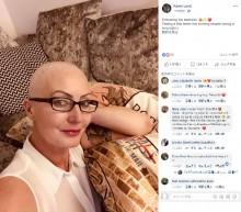 【海外発!Breaking News】末期がん治療費を募る女性に「金を乞うのは止めろ」と書かれたカード届く(英)