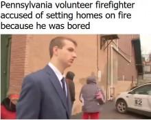 【海外発!Breaking News】ボランティア消防士「退屈だったから」と民家に放火(米)