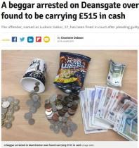 【海外発!Breaking News】現金7万円超を所持しながら物乞いをしていた男が逮捕 イギリスで急増する「なりすましホームレス」<動画あり>