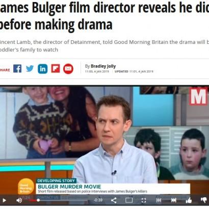 【海外発!Breaking News】ジェームス・バルガー君事件を遺族に無断で映画化 監督に批判の声相次ぐ(英)<動画あり>