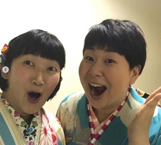 川村エミコと大島美幸(画像は『川村 エミコ(たんぽぽ) 2019年1月6日付Instagram「一芸合宿 [お箏]観ていただいた方ありがとうございました!!」』のスクリーンショット)