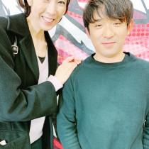 【エンタがビタミン♪】大林素子、アルピー酒井と2ショットも顔が見切れ「やっぱりこうなったか(笑)」