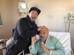 【エンタがビタミン♪】クロちゃん、団長安田のお見舞いに「長居されたけど、嬉しかったしん」