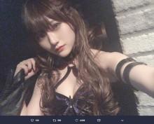 【エンタがビタミン♪】元HKT48山田麻莉奈のコスプレに反響 「すごいです…」「目のやり場に困る」