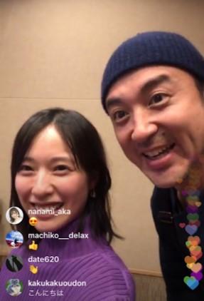 戸田恵梨香とムロツヨシ、久しぶりの2ショット(画像は『ムロツヨシ 2019年1月24日付Instagram』のスクリーンショット)