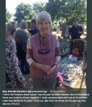 【海外発!Breaking News】孤児院育ちの81歳女性、実母が103歳で存命と知り驚きと喜び露わに(アイルランド)