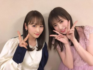 【エンタがビタミン♪】川栄李奈、NMB48吉田朱里と再会 「神ペア」「珍しい」とファン驚き