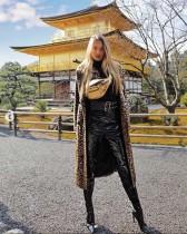 【イタすぎるセレブ達】ヴィクシーモデルのロミー・ストリドが京都を満喫 「日本大好き!」