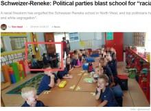 【海外発!Breaking News】教室内で白人児童と黒人児童を分けて座らせた小学校に批判殺到(南ア)