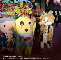 """【エンタがビタミン♪】ふなっしー、わん丸君やあゆコロちゃんたちと東京ドームで""""青森ねぶた祭""""を踊る"""
