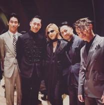 【エンタがビタミン♪】YOSHIKIがEXILE&三代目JSBに加入? AKIRA、今市隆二らと並び「Xile」!