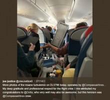【海外発!Breaking News】激しい乱気流で5人が怪我 デルタ航空、緊急着陸を強いられる