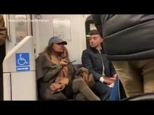 【海外発!Breaking News】満員電車の優先席をヴィトンのバッグで占領した女、警察に追い出される(米)<動画あり>