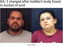 【海外発!Breaking News】浴槽で溺死した2歳児の遺体、酸入りバケツの中から発見(米)