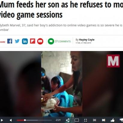 【海外発!Breaking News】ゲーム依存の息子を心配し、ネットカフェに食事を運ぶ母親(フィリピン)<動画あり>