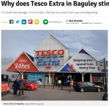 【海外発!Breaking News】悪臭が充満するスーパーに苦情殺到 床下に停滞している汚水が原因で(英)