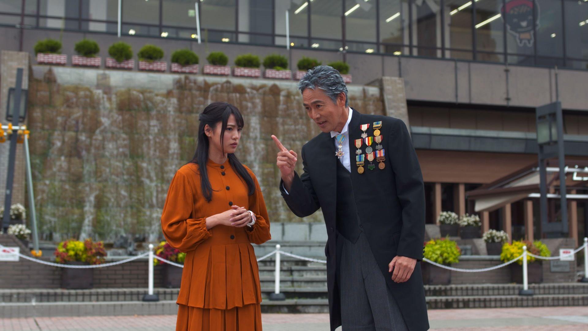 岩手県魅力発信PR動画『偉人局』で村上弘明と志田友美