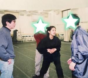 つかこうへいさんのもと舞台稽古に励む小西真奈美(画像は『小西真奈美 2019年1月14日付Instagram「ちょうど20歳の頃の私っ」』のスクリーンショット)