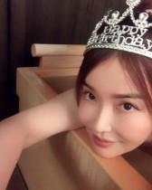 【エンタがビタミン♪】平子理沙、誕生日を温泉で過ごす ティアラ姿に「永遠の美少女」の声