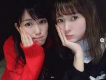 【エンタがビタミン♪】ももクロ高城れに&モー娘。生田衣梨奈 レアショットに「奇跡のコラボレーション!!」