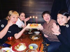 【エンタがビタミン♪】近藤春菜の誕生日をお祝い 滝沢カレンら仲良し4人組に「ゴールデンの特番できる」の声