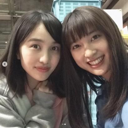 【エンタがビタミン♪】土屋太鳳「これからも、ずっとよろしく」 百田夏菜子と長い付き合いになる予感