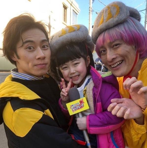戸塚純貴、渋谷南那、モノマネ芸人JP(画像は『私のおじさん~WATAOJI~【公式】 2019年2月16日付Instagram「#私のおじさん 第5話ご覧いただきありがとうございます」』のスクリーンショット)