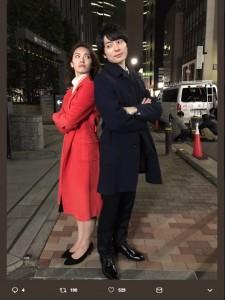 秋元才加、和田琢磨との共演に「お初な役柄」(画像は『木曜ドラマF「人生が楽しくなる幸せの法則」 2019年2月9日付Twitter「次回第6話のゲストは#秋元才加 さん」』のスクリーンショット)