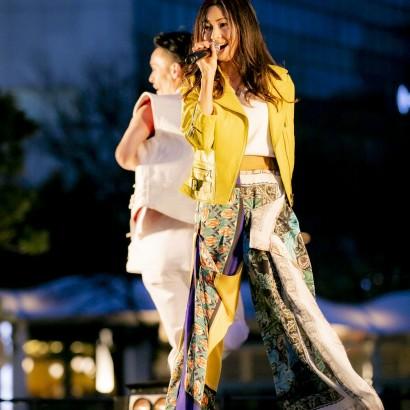【エンタがビタミン♪】倉木麻衣「ワクワクしています!」 東京五輪500日前イベントで「音楽で応援を」と熱唱