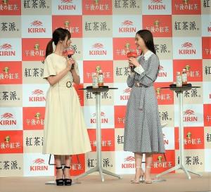 トークする深田恭子と新木優子