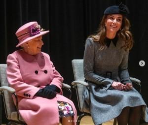 【イタすぎるセレブ達】キャサリン妃、エリザベス女王の公務に単独同行 王室入り8年目で初