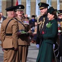 【イタすぎるセレブ達】ウィリアム王子&キャサリン妃「セント・パトリックス・デー」のパレードに出席