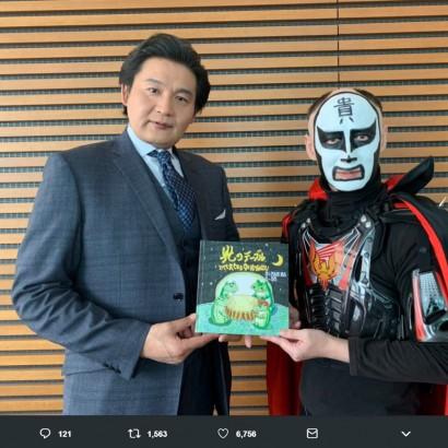 【エンタがビタミン♪】貴乃花の絵本デビュー作でコラボした鉄拳 「会うまでは厳格なイメージでしたが…」