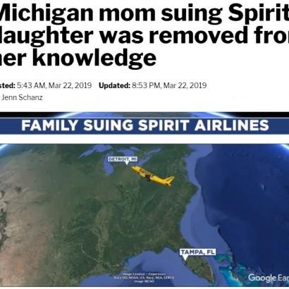 【海外発!Breaking News】オーバーブッキングで15歳娘を降機させた米スピリット航空に母親が訴訟起こす