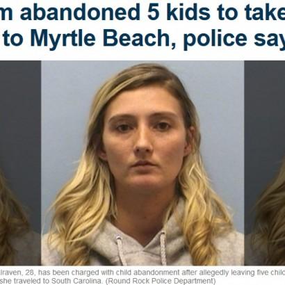 【海外発!Breaking News】子供5人を自宅に残し恋人と旅行に出かけた母親 呆れる言い訳続々(米)