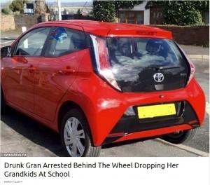 【海外発!Breaking News】自動車保険なしで飲酒運転 孫を学校まで送迎した祖母が逮捕(英)