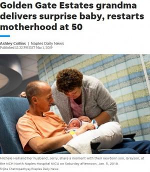 【海外発!Breaking News】閉経と診断された50歳女性、まさかの出産 「妊娠するなんて思ってもいなかった」(米)