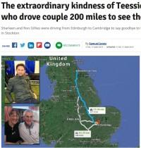 【海外発!Breaking News】危篤の身内のもとに駆けつける途中で事故に遭った夫妻 見知らぬ男性の運転で最期の別れに間に合う(英)