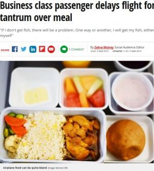 【海外発!Breaking News】機内食リクエストに不満 離陸を5時間以上も遅らせた乗客に降機命令(カナダ)