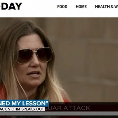 【海外発!Breaking News】自撮り目的で防護壁に登りジャガーに襲われた女性、動物園に「安全策の考慮を」と発言(米)