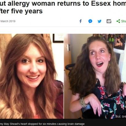 【海外発!Breaking News】旅先のチキン料理で脳にダメージを負ったナッツアレルギーの女性、5年ぶりに帰宅(英)