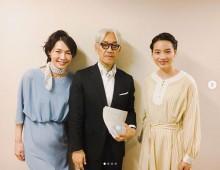 【エンタがビタミン♪】のん、坂本龍一と共演にファン感慨 「テレビでまた会える日を楽しみにしています」