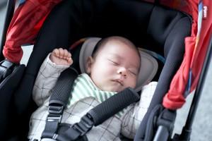 赤ちゃんも快適なトリプルシート