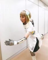 【エンタがビタミン♪】吉岡里帆『LIFE!』での金髪アンドロイド姿に反響 「最高かよ」「永久保存版」