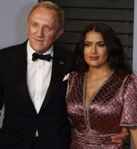 【イタすぎるセレブ達】サルマ・ハエック、大富豪の夫と結婚10周年も 「メキシコ人がこんな人生を得たことを人々は信じない」