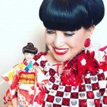 【エンタがビタミン♪】黒柳徹子、玉ねぎ頭の特製バービー人形に「とっても上手にできてる!」