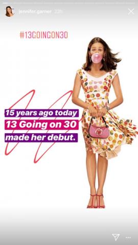 【イタすぎるセレブ達】ジェニファー・ガーナーのヒット映画『13 ラブ 30』が15周年 「本当にラッキー」