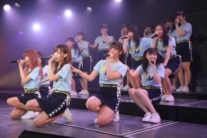 NGT48チームG『逆上がり』千秋楽公演にて(C)AKS
